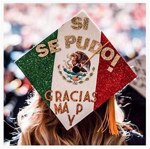 In photos: these graduation caps honor Hispanic heritage