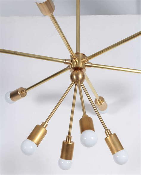 sputnik light fixture custom macomber modern brass sputnik light fixture for