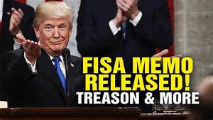 FISA MEMO RELEASED! Treason Exposed (Video)