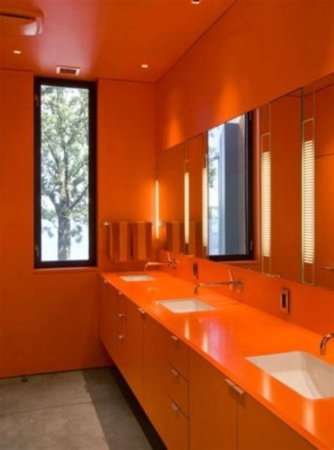 inspiring ripe orange room designs digsdigs