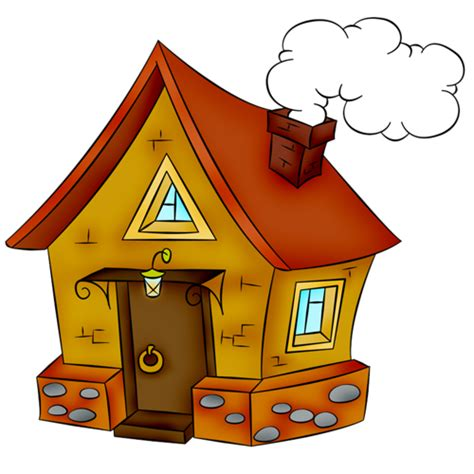 House Drawing Clip art - cartoon house png download - 500 ...