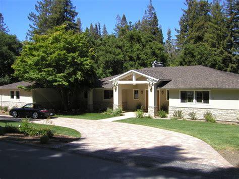 Los Altos Hills Ranch House Remodel Contemporary