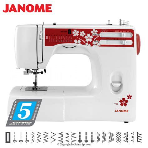 multifunctional sewing machine janome