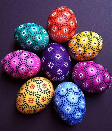 bemalte ostereier bilder sorbische ostereier sorbian easter eggs dys ostereier sachsen und ostern
