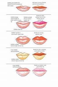Applying Lip Liner And Colour  Tips And Tricks