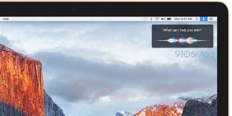 siri coming   mac menu bar  os     year macrumors