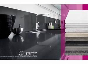 plan de travail quartz sur mesure cuisine With plan de travail cuisine en quartz