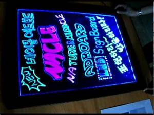 LED Writing Board [Miracle Ad Board] Fluorscent Marker