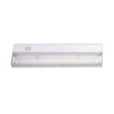 home depot under cabinet lighting acclaim lighting 1 light 12 in white fluorescent under
