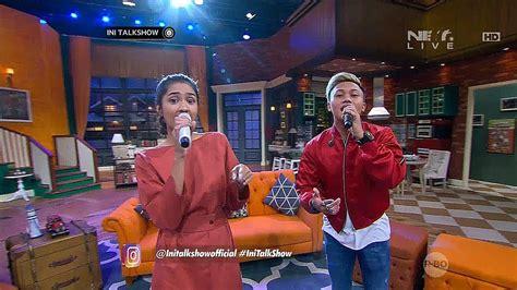 Performance Rizky Febian Feat Mikha Tambayong