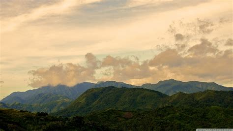 sierra madre mountains tanay philippines  hd desktop