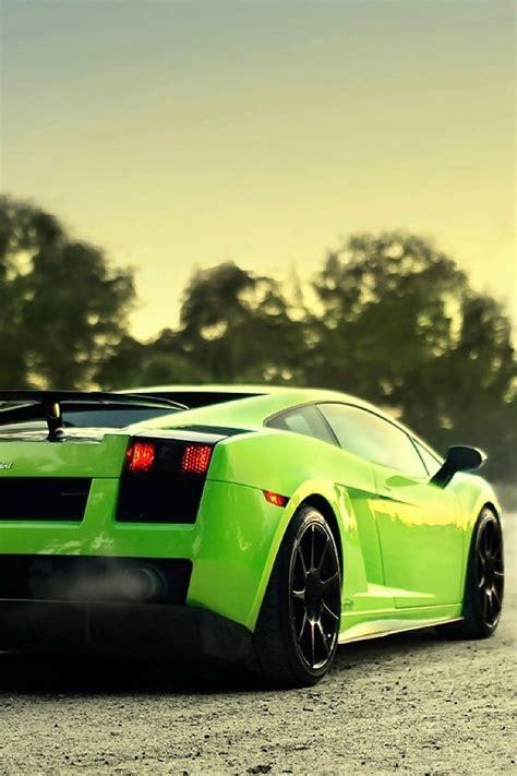Blue Wallpaper Iphone 6 Lamborghini by Lamborghini Supercar Green Iphone 6 6 Plus And Iphone 5