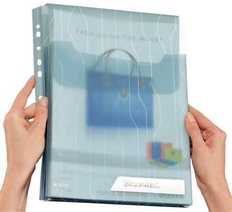 leitz pochette perforee porte document combifile maxi