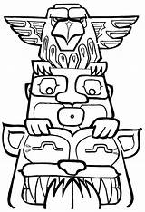Totem Pole Coloring Poles Drawing Funny Drawn Clipartmag Getdrawings Sheets Popular sketch template