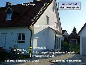 Kosten Sat Anlage Einfamilienhaus : blitzschutz antenne el greco antenne blitzschutz el ~ Lizthompson.info Haus und Dekorationen