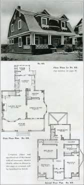 colonial revival house plans 1910 colonial revival the bungalow house henry wilson gambrel roof