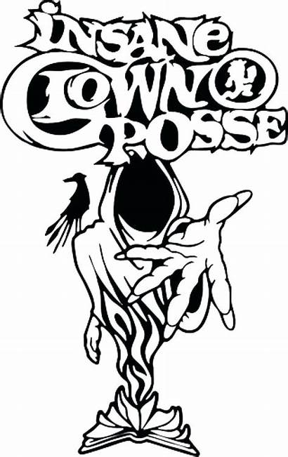 Clown Insane Posse Icp Coloring Pages Drawing