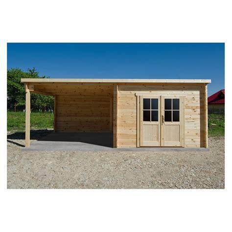 abri toit plat 9m 178 plus 40mm terrasse couverte lat 233 rale
