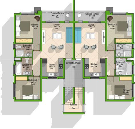 Types Of Floor Plans by Unit Type B Central Park