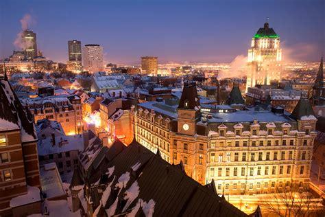 Quebec City Merging Past Present