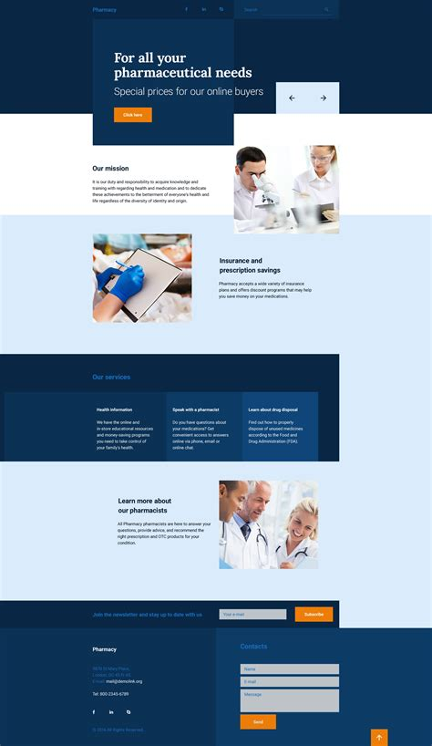 landing page template store responsive landing page template 58194