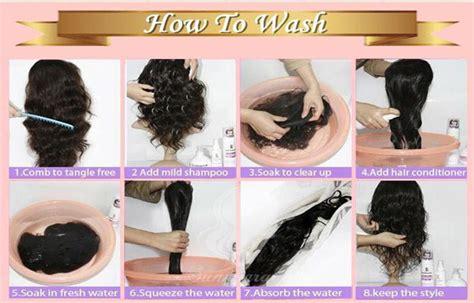 How To Wash Human Hair Wig?blog   Julia Hair
