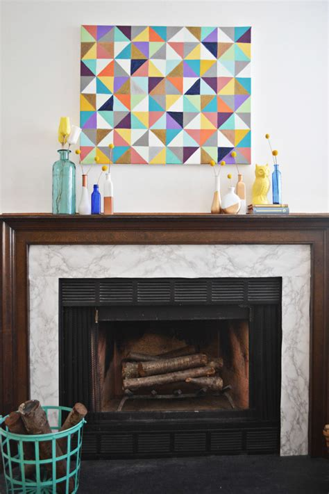 marble fireplace makeover  joyful riot