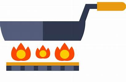 Conduction Heat Clipart Radiation Convection Cooking Animation