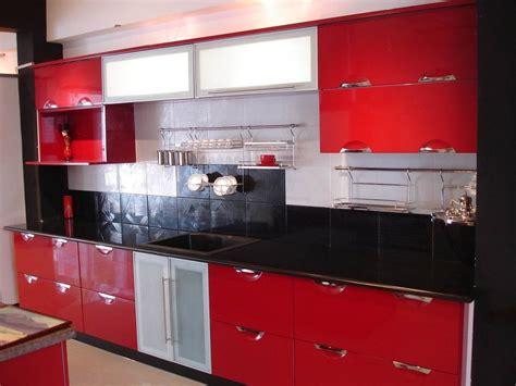contemporary black  red kitchen ideas handsome willys