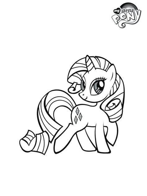 Kleurplaten Pony S by Kleurplaat My Pony Rarity Kleurplaten Nl