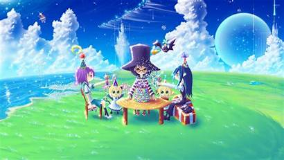 Birthday Anime Happy Wallpapers Wishes Wallpapersafari Iphone