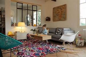 Deco le precieux tapis et le nouveau salon ritalechat for Tapis deco salon
