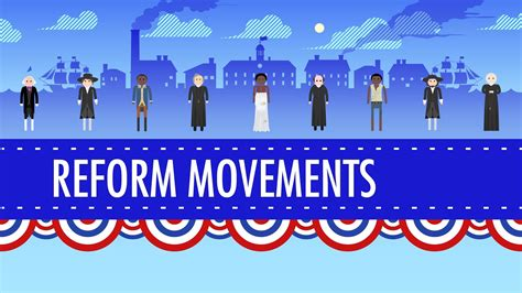 19th Century Reforms Crash Course Us History 15 Youtube