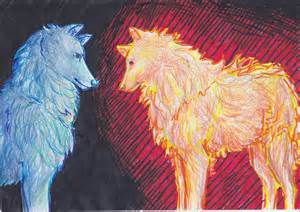 Fire and Water Wolves
