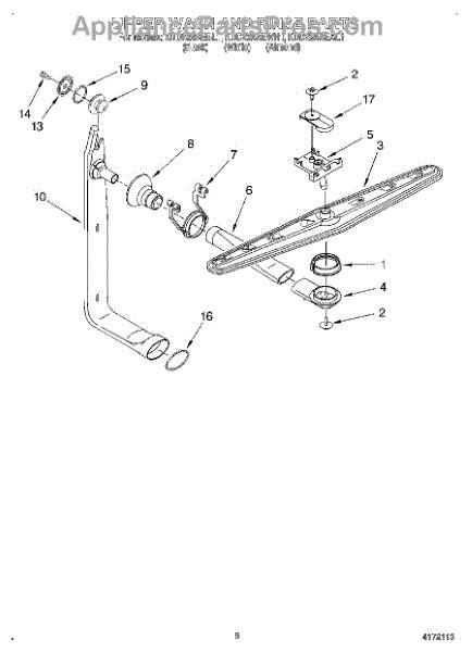 Whirlpool Spray Arm Supply Tube Kit