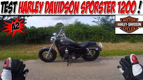 harley davidson a2 moto vlog 137 test harley davidson sporster 1200 a2 rip calle pied