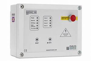 Merlin Fab1  Fire Alarm Bypass Panel  - S U0026s Northern