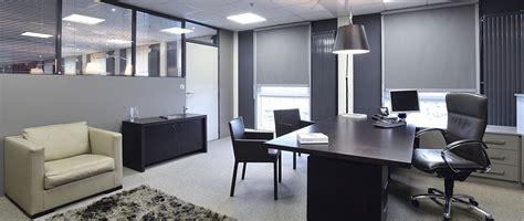 decoration bureau entreprise gris