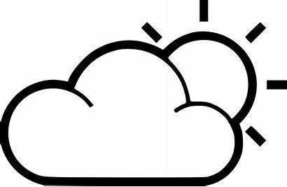 Sun Icon Cloud Svg Drawing Onlinewebfonts Getdrawings