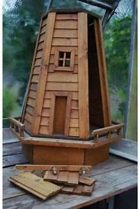 garten windmuhle aus holz an geschickten bastler With französischer balkon mit wassertank garten gebraucht