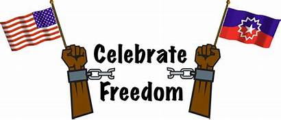 Clipart Juneteenth Freedom Emancipation Proclamation Clip National