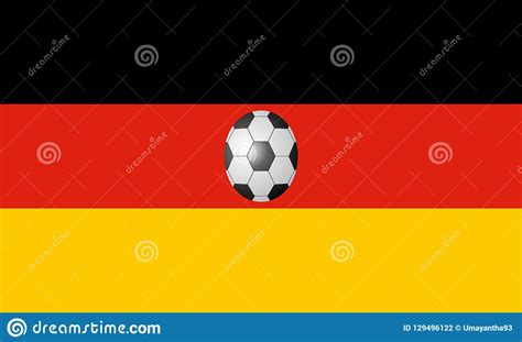 Browse millions of popular deutschland wallpapers and ringtones on zedge and personalize your phone to suit you. Germany Flag With Soccer Ball Stock Illustration ...