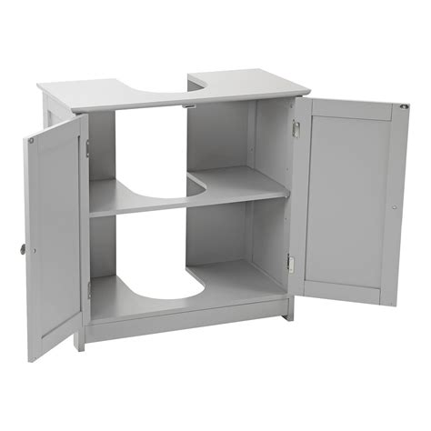 Grey Bathroom Cupboard by Grey Wooden Bathroom Cabinet Shelf Cupboard Bedroom