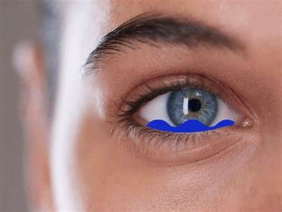 Eyes Watering Watery Eye Stop Woman Behind