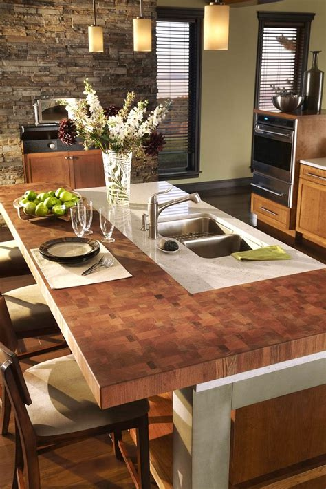 butcher block countertop island 125 best images about butcher block countertops on