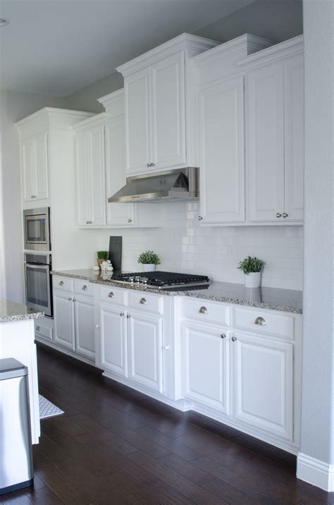 white cabinet kitchen pillow thought kitchen remodel home tour