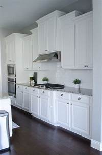 pictures of white kitchens Pillow Thought: Kitchen Remodel / Home Tour