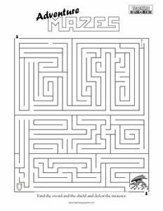 Adventure Mazes Teaching Squared