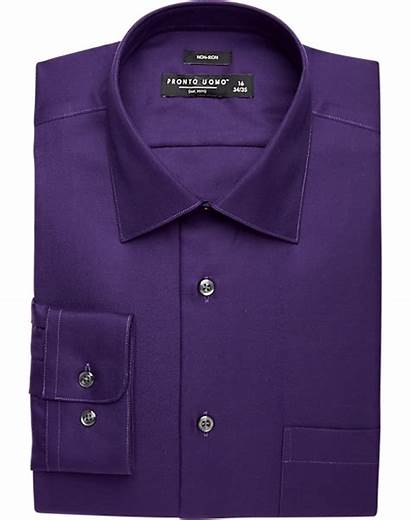 Purple Shirt Uomo Pronto Shirts Mens Wearhouse