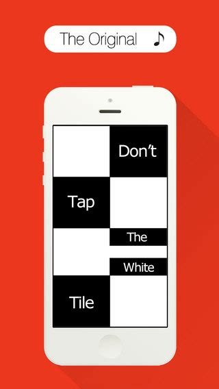 dont tap the white tile 2 iphone screenshot 1